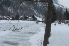 11/02/2012 Gressoney (Ao) - cascata della centrale